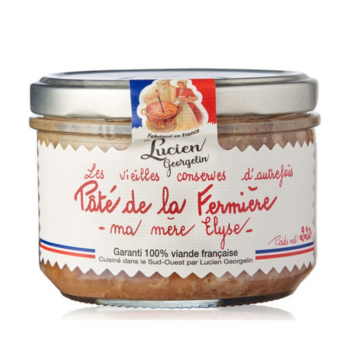 Pâté de la Fermiere (Farm style pâté) - 220g Lucien Georgelin