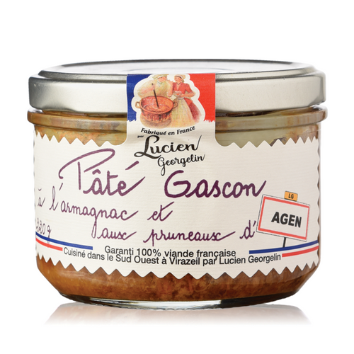 Gascon Pate with Armagnac and Agen Plums - 220g