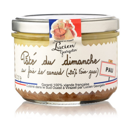 Pork Pâté with Foie Gras - 200g