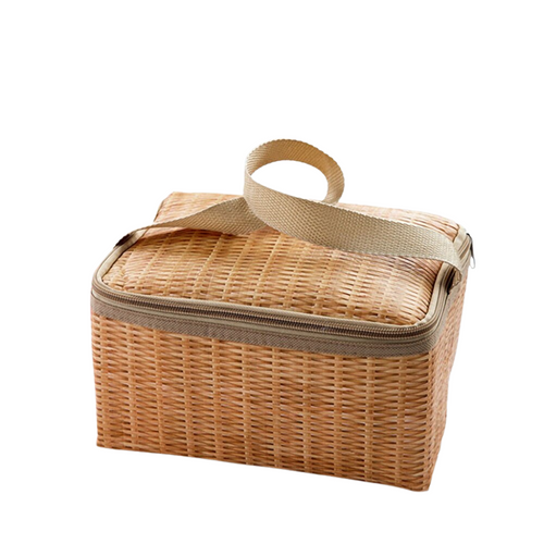 Rattan Look Cooler Bag Le Fromage Yard