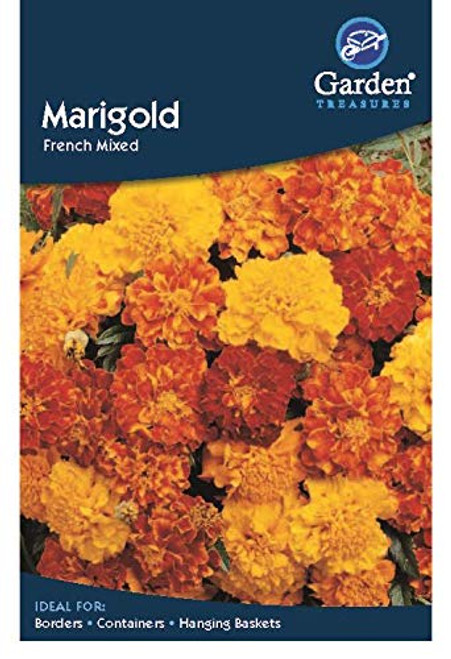 Garden Treasures Marigold French Mixed Seeds Grow Your Own Flowers