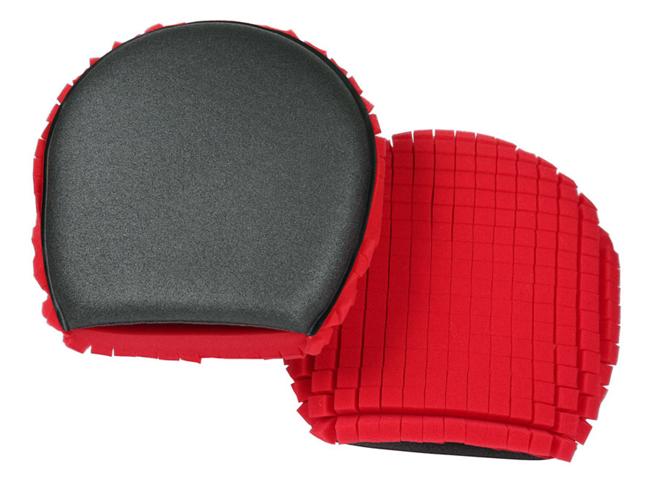 Lake Country Red and Charcoal Wash Mitt