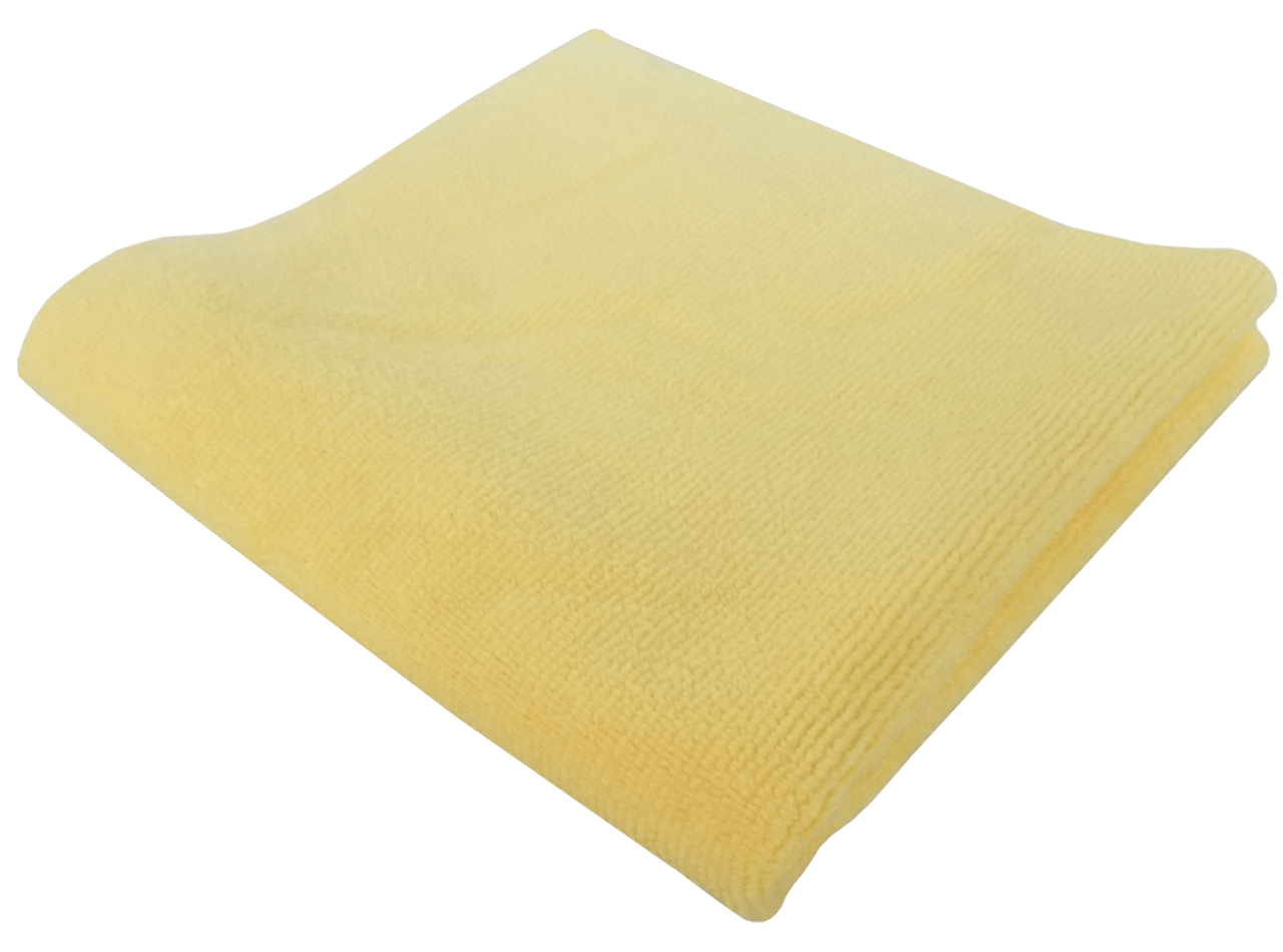 Reli Trusted Products Yellow Edgeless Towel  Back