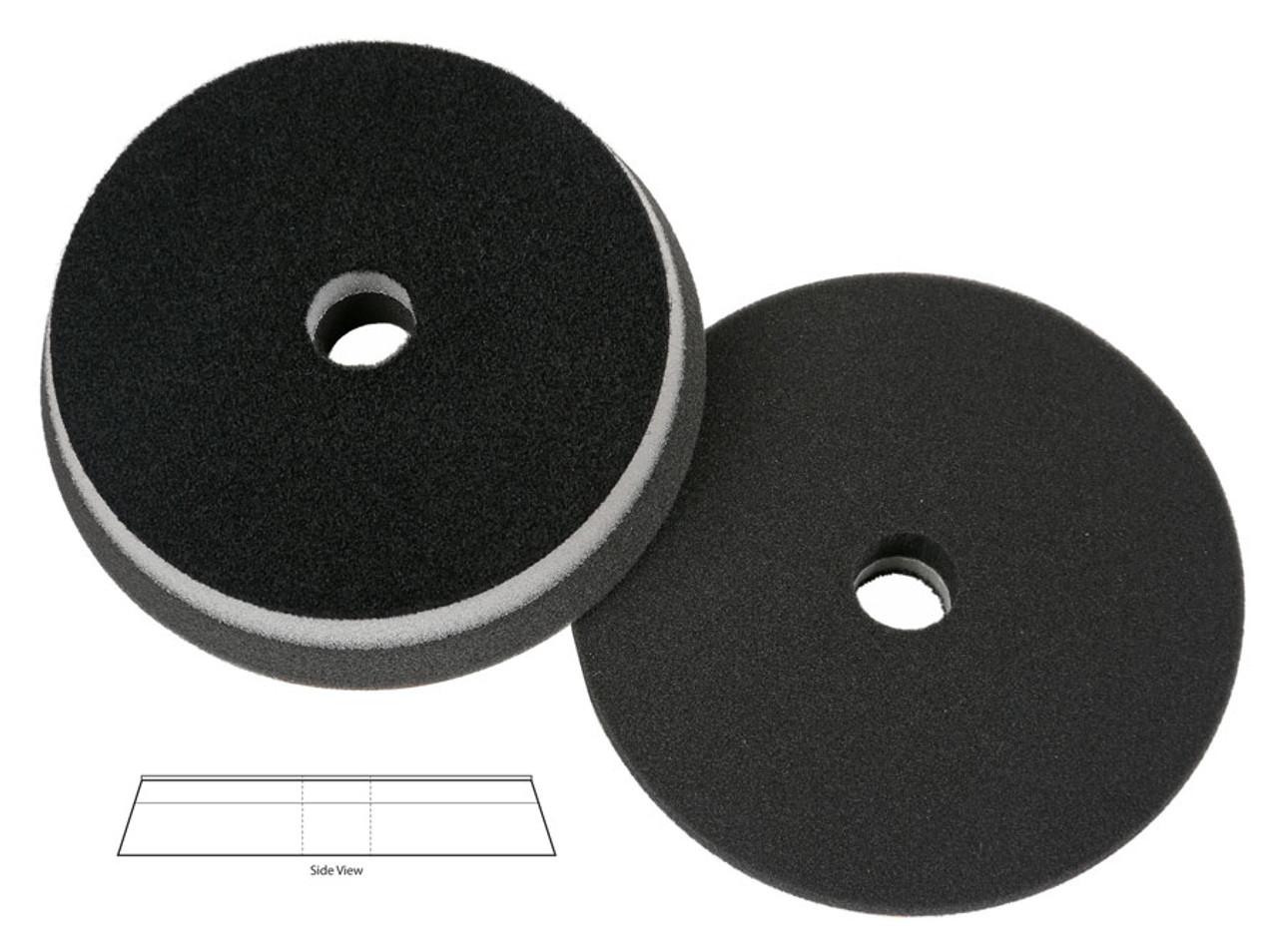 "Lake Country Black HDO 6.5"" x 1""  Foam Orbital Finishing Pad Fits 6"" Backing Plate"