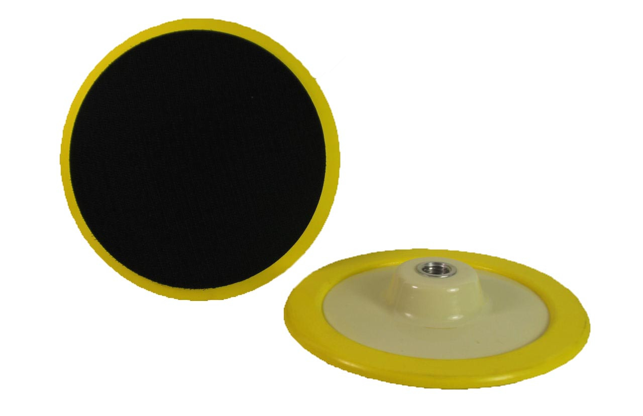 """VP-11T Velcro Backing Plate with soft edge for use  with 7"""" - 9"""" Pads"""