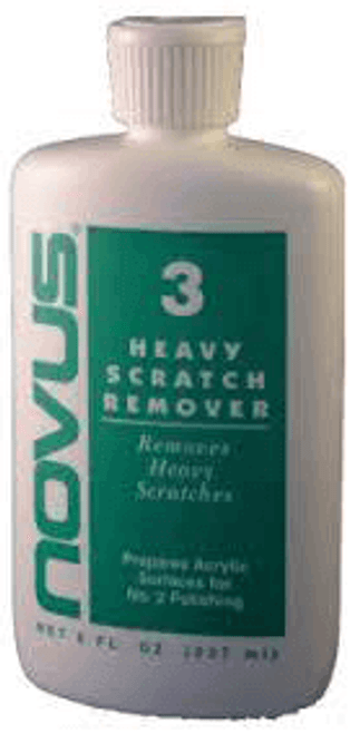 Novus Plastic Polish #3 Heavy Scratch Remover