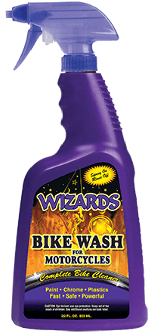 Wizards Bike Wash for Motorcylces