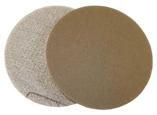 "Foam Backed Abrasive Mesh- Enables a dust free work environment. High Flexibility- Adaptive surface is perfect for curves and contours of automotive, marine, wood, and other building surfaces. Uniform Scratch Pattern- Optimized surface prep Integrated hook & loop design- Allows for quick and easy switches between discs. Disc Size- 3"" Package Quantity- 20 per package"