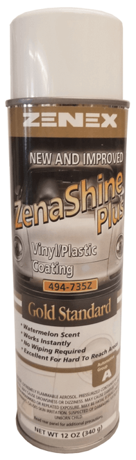 Zenex ZenaShine Plus Vinyl/Plastic Coating Gold Standard