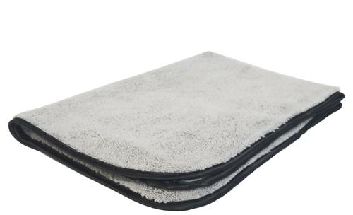 Super Plush Polishing  Microfiber Towel with Silk Border