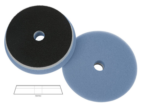 "Lake Country Blue Orbital Foam Cutting Pad 5.5"""