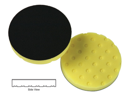 Lake Country CCS Yellow Prepolymer Foam Cutting Pad