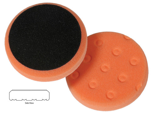 """Cutback DA, 3-1/2"""" x 7/8""""Hook & Loop CCS Technology Pad, fits 3"""" Backing Plate, Recommended tools DA, Forced Rotation DA or Mini Long Throw."""