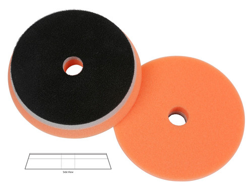 "Lake Country Orange Orbital Polishing Pad 5.5"" Fits a 5"" Backing Plate"