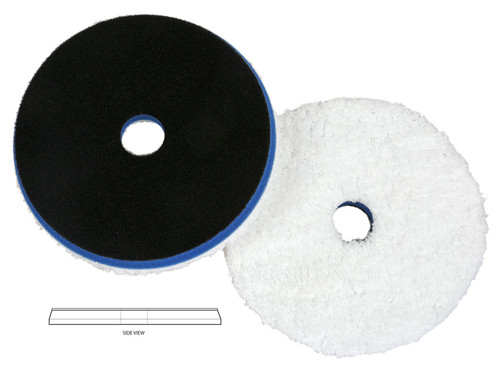 """Lake Country HDO-650F Fiber Heavy Cutting Pad 6.375"""" Fits 6"""" Backing Plate"""