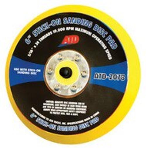 Indasa RhynoStick Discs + ATD Stick-on Sanding Disc Pad