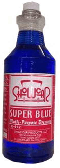Show Car Product's Super Blue Tire and Trim Dressing