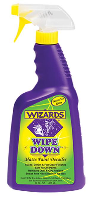 Wizards Wipe Down Matte Detailer
