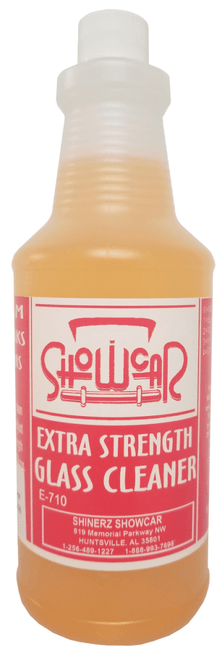 Show Car Product's Extra Strength Glass Cleaner