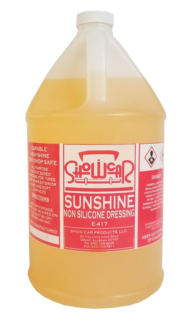 Show Car Sunshine Dressing