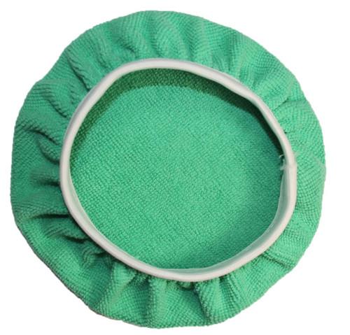 Hi-Tech 14MF 6 inch Green Microfiber Bonnet
