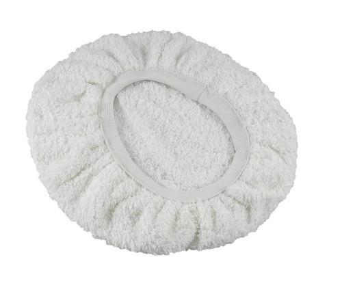 Hi-Tech 100T White 11 inch Terry Cloth Bonnet
