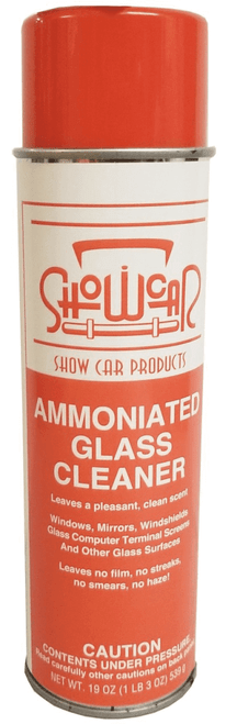 Show Car Product's Ammoniated Glass Cleaner