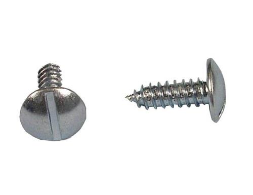 Slotted Round Screw for Nylon Insert Bag of 24