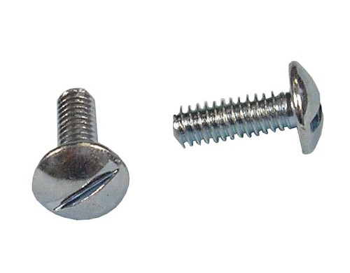 Slotted Round Head Tag Mount Bolt - Bag of 24
