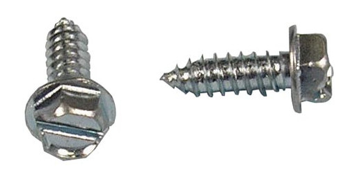 Slotted Hex Screw Bag of 24