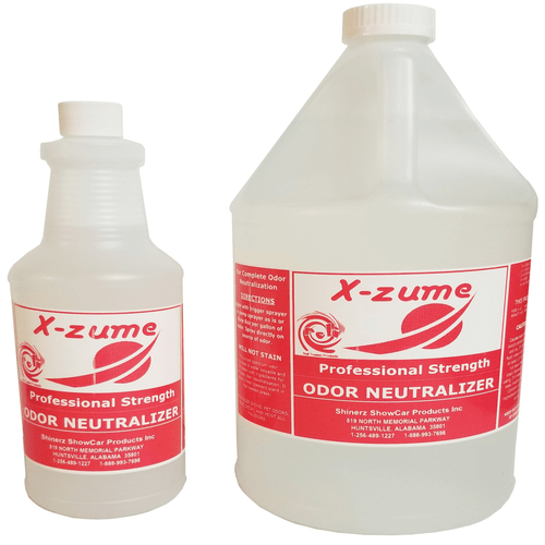 Show Car Products' X-Zume Odor Neutralization