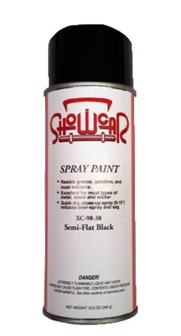 Show Car Semi Flat Black Spray Paint