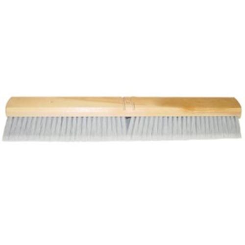 """Magnolia 3724FX 24"""" Grey Flagged Flexsweep Floor Brush"""