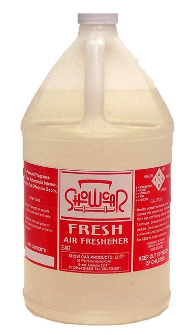 Show Car Water Based Fragrance Gallon