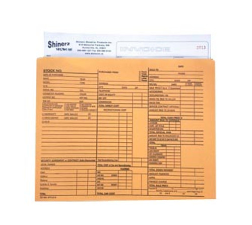 Dealer Document Envelope