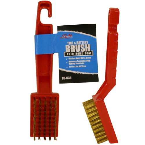 S.M. Arnold 85-635 Tire & Battery Brush