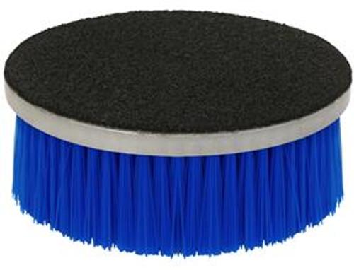 "Loop Back Rotary Brush with Blue Polypropylene Bristles 5"""