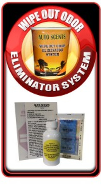 Auto Scents Wipe Out Odor Eliminator Kit