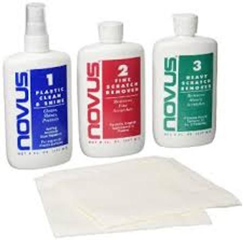 Novus Plastic Polish #7100 8oz Kit