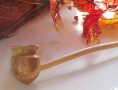 Tauriel Pipe PERSONALIZED FREE Foot Long Wood Churchwarden