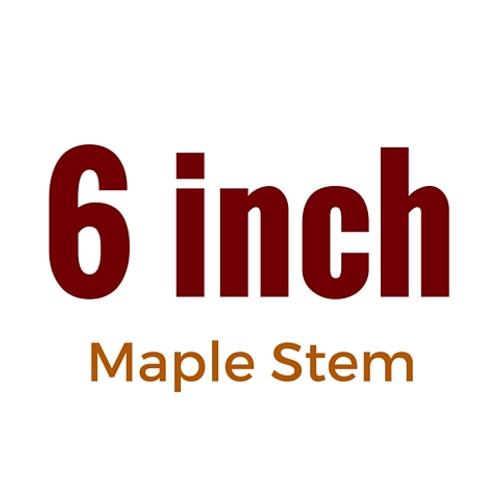 6 inch Maple Stem   FloggleWerks