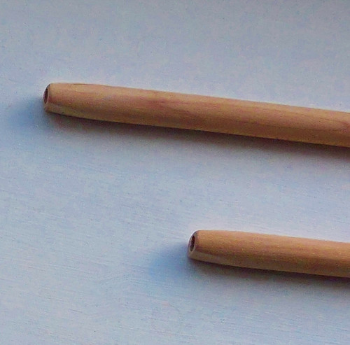 Tapered Mouth Wood Pipe Stem | FloggleWerks