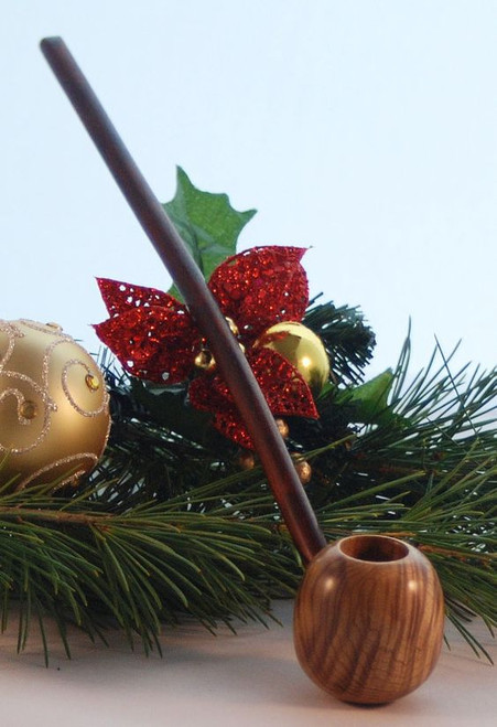 Holiday Hobbit Pipe | FloggleWerks