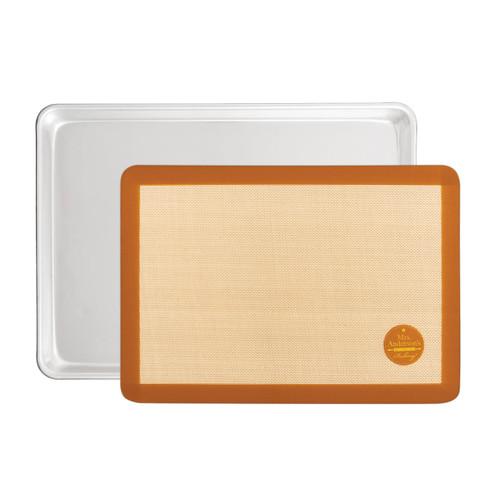 Baking Sheet Pan with Baking Mat Set