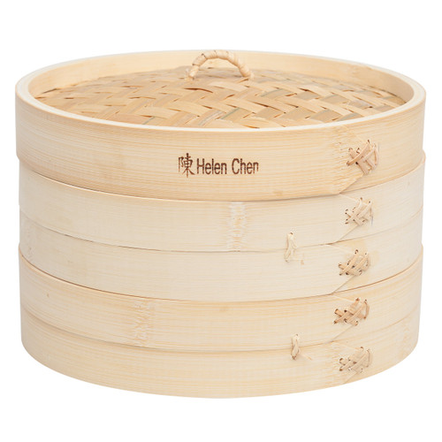 Bamboo Steamer Set 10 Inch
