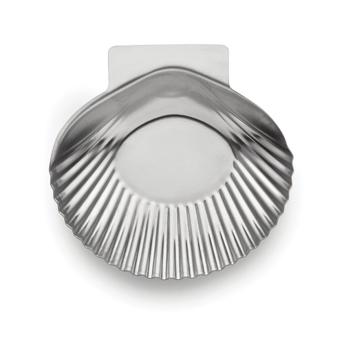 Stainless Steel Grillable Clam Shells Set of 12