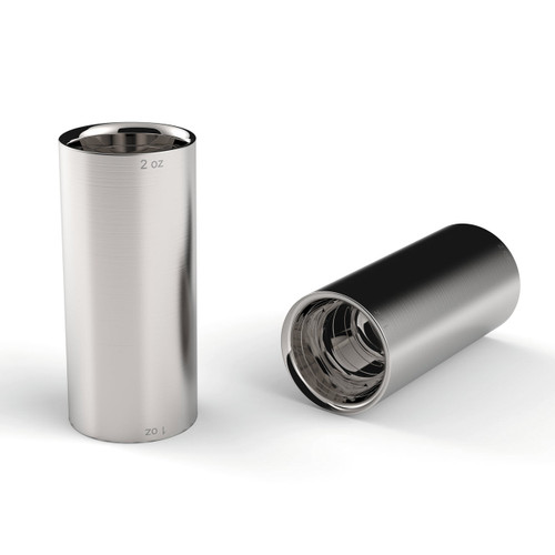 Stainless Steel Double Shot Glass