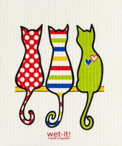 Wet-It! Cat Lover Multi Swedish Cloth