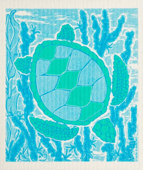 Wet-It! Sea Turtle Swedish Cloth