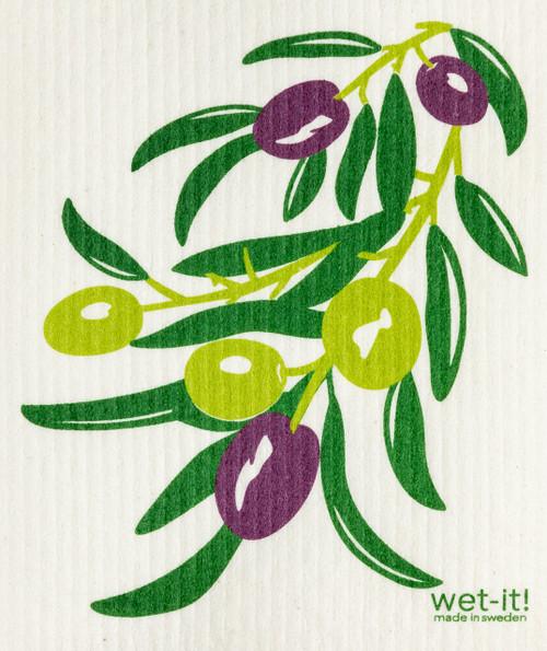 Wet-It! Olive Branch Swedish Cloth